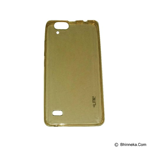 UME UltraThin Softcase for Infinix Hot3 / X553 - Yellow (Merchant) - Casing Handphone / Case