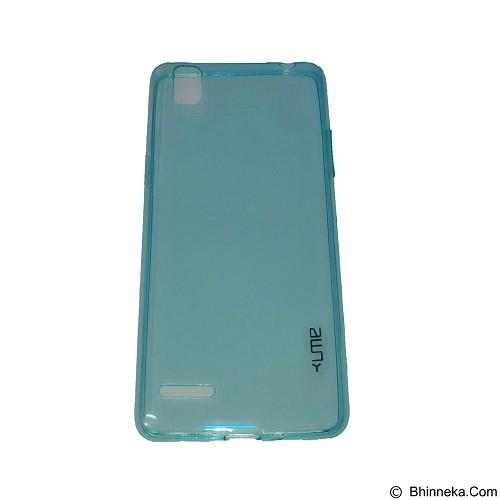 UME UltraThin Softcase for Oppo A35/F1 - Blue (Merchant) - Casing Handphone / Case