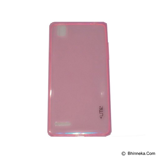 UME UltraThin Softcase for Oppo A35/F1 - Pink (Merchant) - Casing Handphone / Case