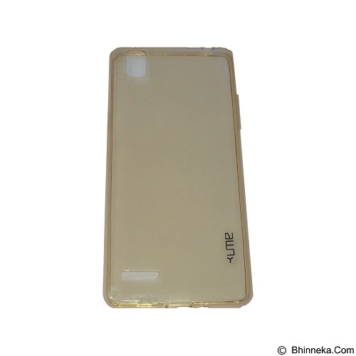 UME UltraThin Softcase for Oppo A35/F1 - Yellow (Merchant) - Casing Handphone / Case