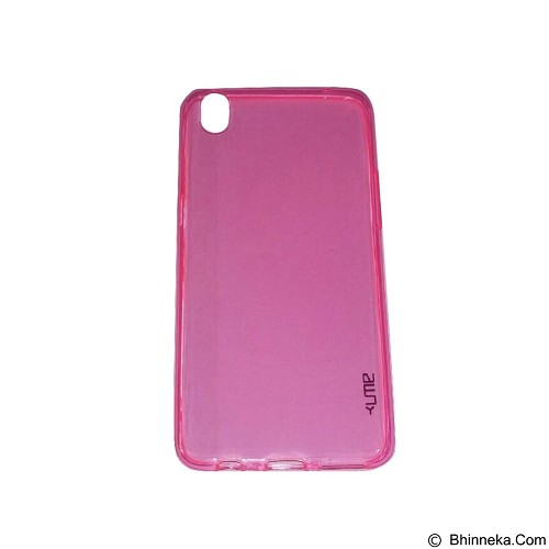 UME UltraThin Softcase for Oppo R9 /F1 Plus - Pink (Merchant) - Casing Handphone / Case