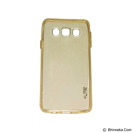 UME UltraThin Softcase for Samsung Galaxy A3/A300 - Yellow (Merchant) - Casing Handphone / Case