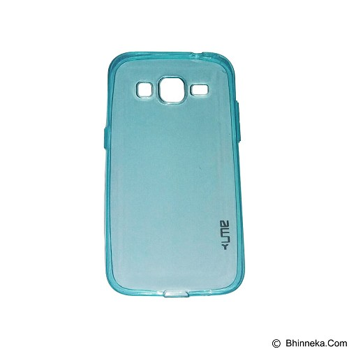 UME UltraThin Softcase for Samsung Galaxy G3608/Core Prime - Blue (Merchant) - Casing Handphone / Case