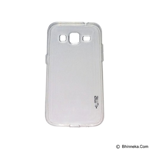 UME UltraThin Softcase for Samsung Galaxy G3608/Core Prime - White (Merchant) - Casing Handphone / Case