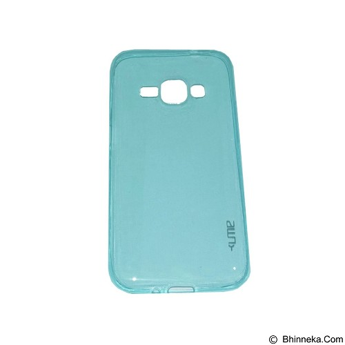 UME UltraThin Softcase for Samsung Galaxy J1 - Blue (Merchant) - Casing Handphone / Case