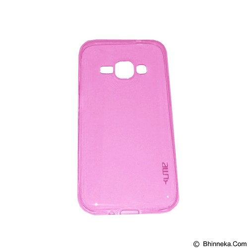 UME UltraThin Softcase for Samsung Galaxy J1 - Pink (Merchant) - Casing Handphone / Case