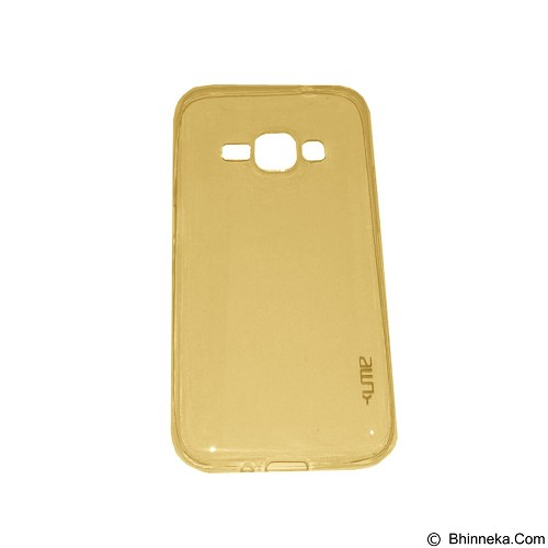 UME UltraThin Softcase for Samsung Galaxy J1 - Yellow (Merchant) - Casing Handphone / Case