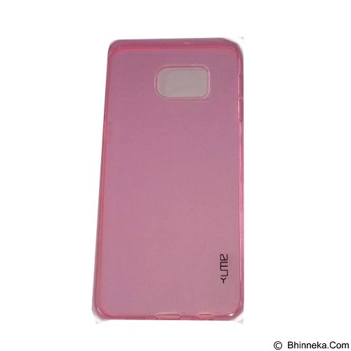 UME UltraThin Softcase for Samsung Galaxy Note 5/N920 - Pink (Merchant) - Casing Handphone / Case