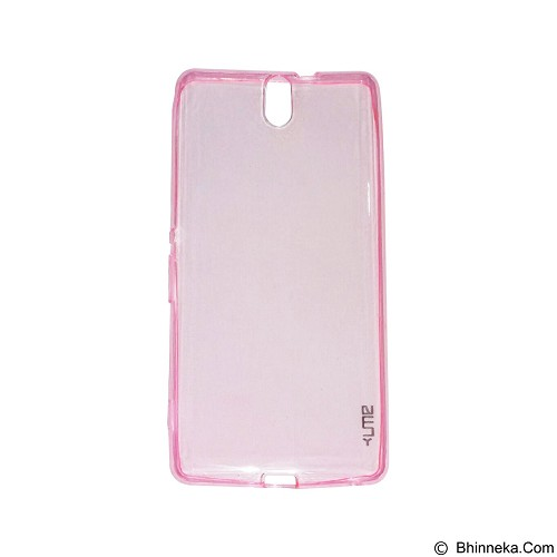 UME UltraThin Softcase for Sony Xperia C5 - Pink (Merchant) - Casing Handphone / Case