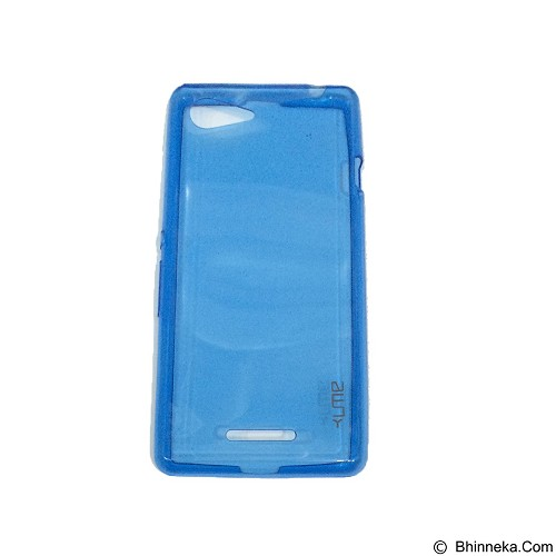 UME UltraThin Softcase for Sony Xperia E3 - Blue (Merchant) - Casing Handphone / Case