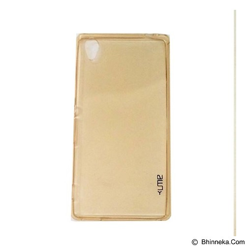 UME UltraThin Softcase for Sony Xperia M4 - Yellow (Merchant) - Casing Handphone / Case