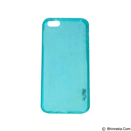 UME UltraThin Softcase for iPhone 5G/5S /5SE - Blue (Merchant) - Casing Handphone / Case