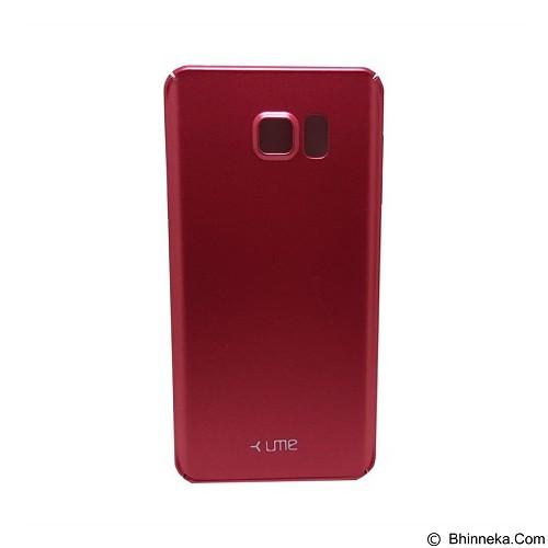 UME Ultrathin Slim Hard Case Samsung Galaxy Note 5 - Red - Casing Handphone / Case