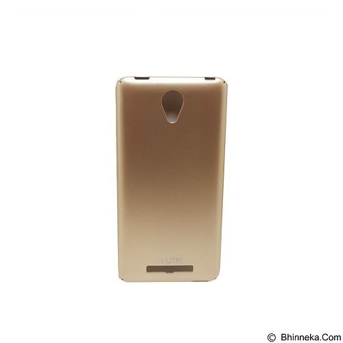 UME Ultrathin Slim Hard Case Xiaomi Redmi Note 2 - Gold - Casing Handphone / Case