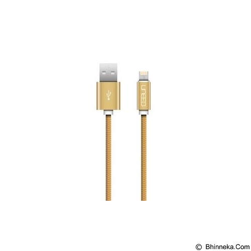 UNEED Cable Charger And Data Micro and Lightning [UCB07MI] - Gold - Cable / Connector USB