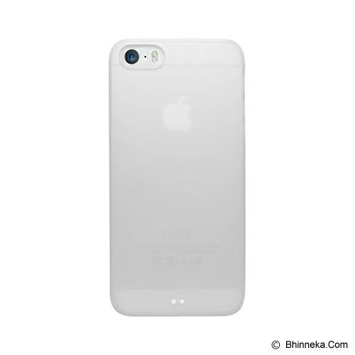 UNIEA Lucid Translucent for Apple iPhone 5s Case 2 Pack - Black & White - Casing Handphone / Case