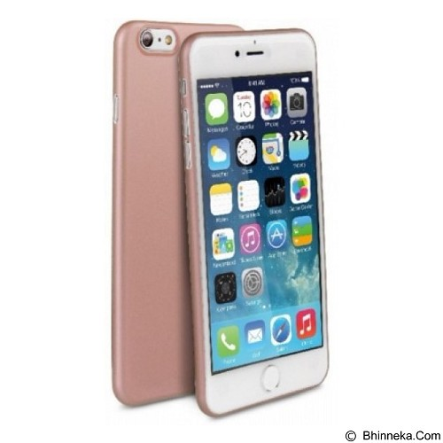 UNIQ Bodycon for iPhone 6 Plus [8886463649510] - Rose Gold - Casing Handphone / Case
