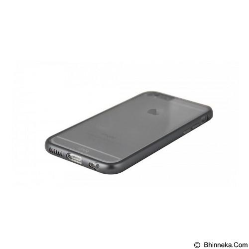 UNIQ Hybrid Aircraft Clear For iPhone 6 [8886463641798] - Cool Gunmental - Casing Handphone / Case