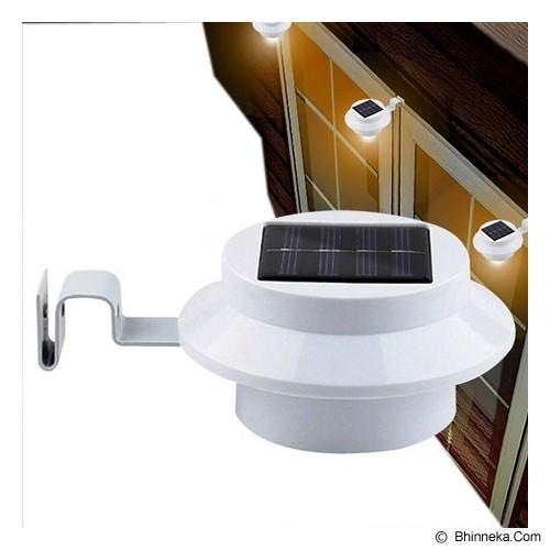 UNIQTRO Lampu Dinding/Pagar 3 LED Tenaga Surya - Lampu Tenaga Surya