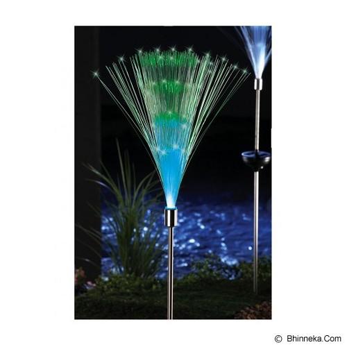 UNIQTRO Lampu Taman Fiber Optik Multi Color Tenaga Surya - Lampu Tenaga Surya