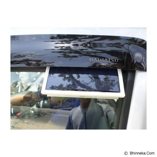 UNIQTRO New Car Ventilatio Tenaga Surya - Putih - Organizer Mobil