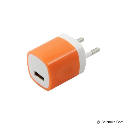 UNIQUE CH-U-PU811-ORCharger USB Home 1-Port [CH-U-PU811-OR] - Orange - Charger Handphone