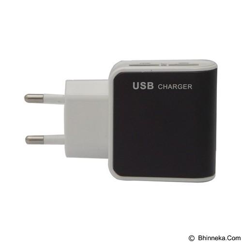 UNIQUE Charger USB 2 Port E Strong [CH-U-ES-D09-B] - Black - Universal Charger Kit