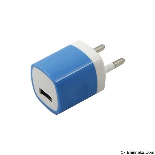 UNIQUE Charger USB Home 1-Port [CH-U-PU811-BL] - Blue - Charger Handphone