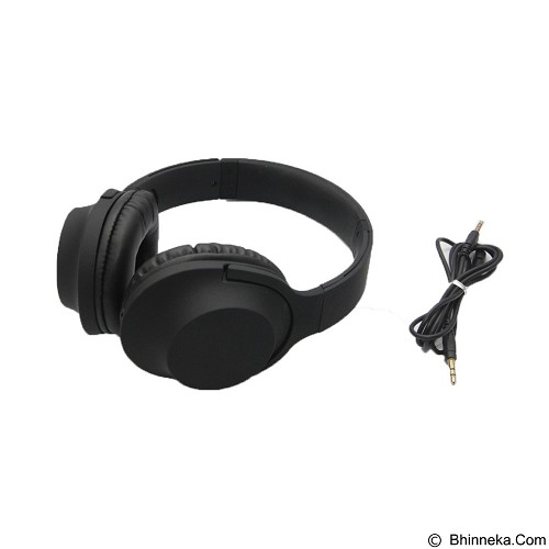 UNIQUE Headphone Extra Bass [HP-U-MDR100-B] - Black (Merchant) - Headphone Portable