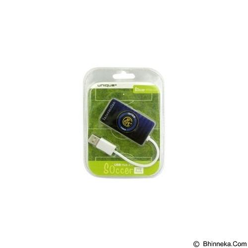 UNIQUE USB Hub 4Port Unique Soccer Inter Milan [HUB-U-SM-IM] - Cable / Connector Usb