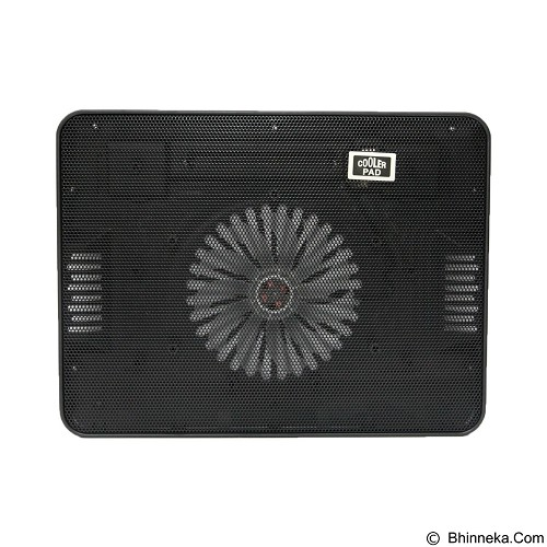 UNIQUE Notebook Cooler Cooling Pad [NC-U-CP-A6-B] - Black (Merchant) - Notebook Cooler