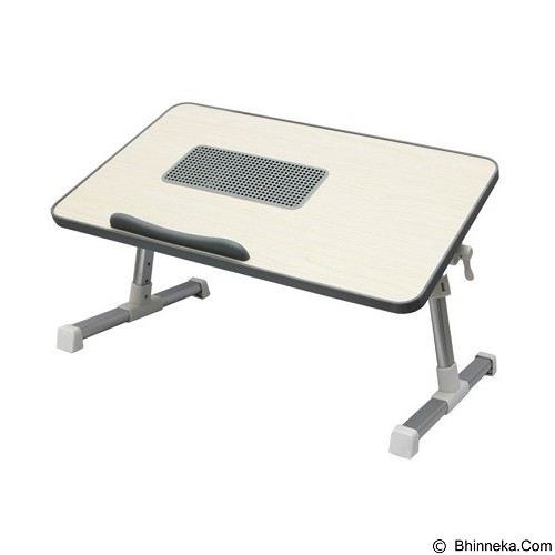 UNIQUE Notebook Cooler Stand Desk Woody A8 V4 [NC-ST-W-A8-V4-G] - Silver - Notebook Cooler