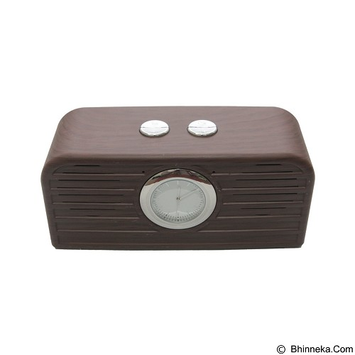 UNIQUE Speaker Bluetooth  [SPK-BT-WC111-DBR] - Dark Brown (Merchant) - Speaker Bluetooth & Wireless