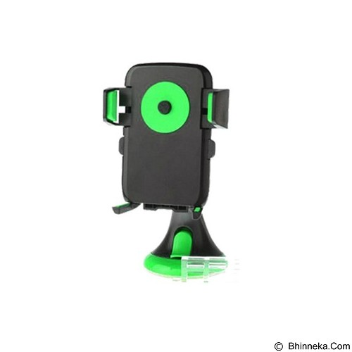 UNIQUE i-Mount Car Holder Smartphone Automatic Lock One Touch HD-68 [HOLD-CAR-HD68-GR] - Green - Gadget Mounting / Bracket