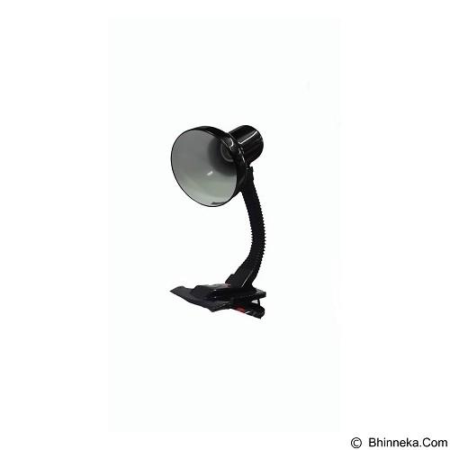 UNIVERSAL Lampu Kerja dan Belajar Model Jepit Meja [LM-212] - Black (Merchant) - Lampu Meja