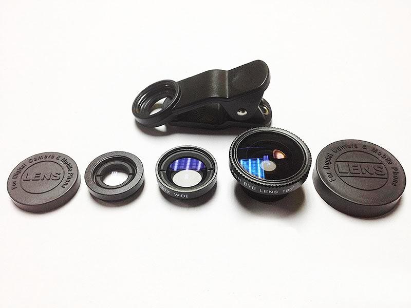 UNIVERSAL Lensa Klip 3 in 1 - Black - Gadget Activity Device