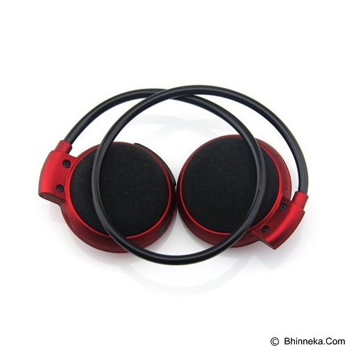 UNIVERSAL Wireless Stereo Bluetooth Sport Headset with Microphone Mini503 [CSI-OMSK2ERE] - Red - Headset Bluetooth