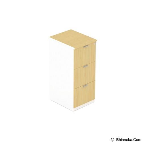 UNO Filing Cabinet 3 Laci Modern [UFL 7263] (Merchant) - Filing Cabinet / Lemari Arsip