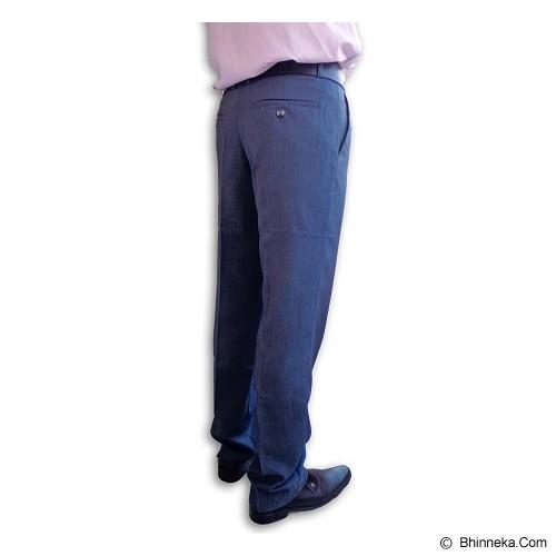URBAN ACT Celana Panjang Pria Size 34 [uaslimglue] - Abu Kebiruan - Celana Panjang Pria