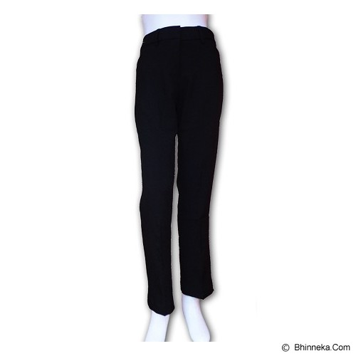URBAN ACT Formal Long Pants Size 14 - Hitam - Celana Panjang Wanita