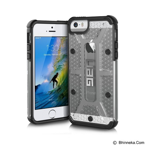 URBAN ARMOR GEAR Apple iPhone SE/5/5s Composite Case - Ice/Black - Casing Handphone / Case