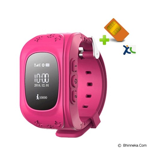 UWATCH Jam Tangan + Kartu XL & Setting [010203] - Pink - GPS & Running Watches
