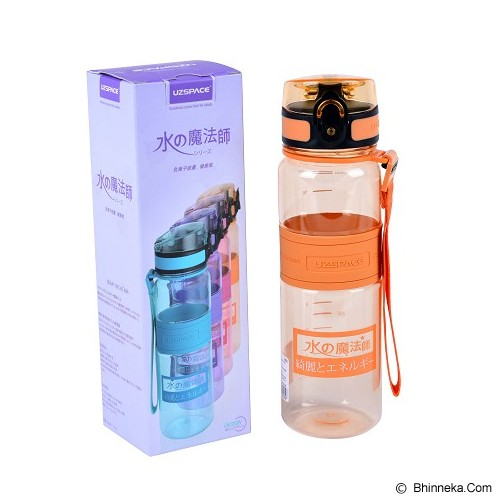 UZSPACE Magic Energy ION Bottle 500ML - Orange - Botol Minum