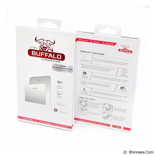 UBOX Buffalo Tempered Glass For Xiaomi Redmi Note 2 Prime - Screen Protector Handphone