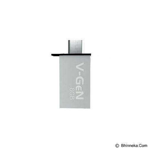 V-GEN OTG Flash Drive 16GB - Silver (Merchant) - Usb Flash Disk Dual Drive / Otg