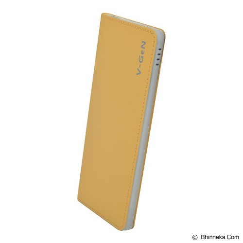 V-GEN Powerbank 5000mAh [PB-V502] - Beige - Portable Charger / Power Bank