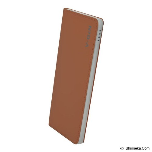 V-GEN Powerbank 5000mAh [PB-V502] - Brown - Portable Charger / Power Bank