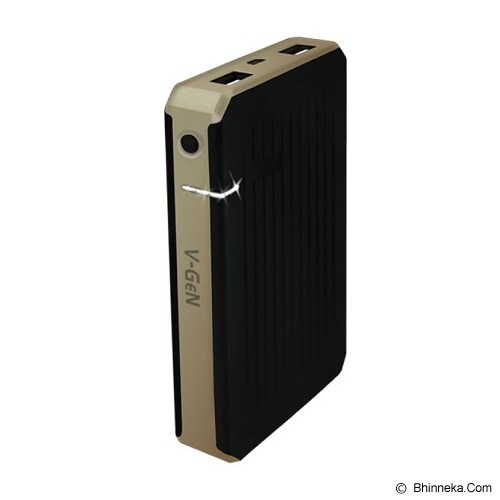 V-GEN Powerbank 5000mAh [V501] - Gold - Portable Charger / Power Bank
