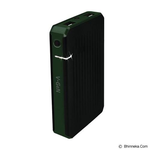 V-GEN Powerbank 5000mAh [V501] - Green - Portable Charger / Power Bank