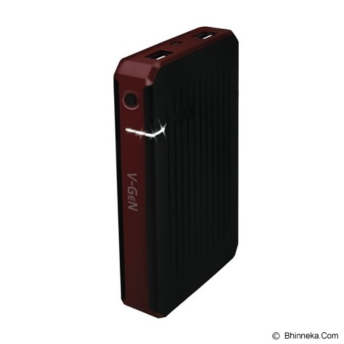V-GEN Powerbank 5000mAh [V501] - Red - Portable Charger / Power Bank